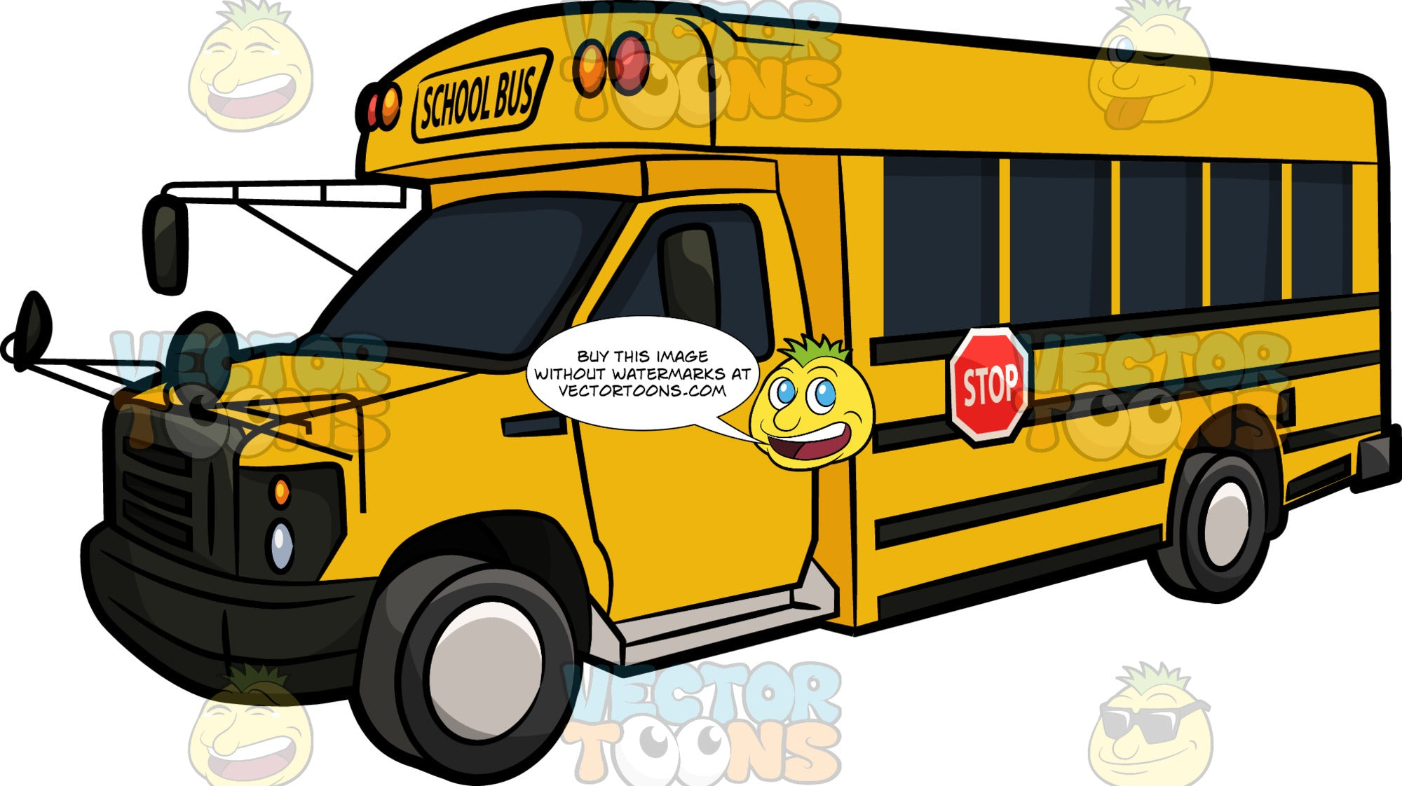 A Caravan Type School Bus