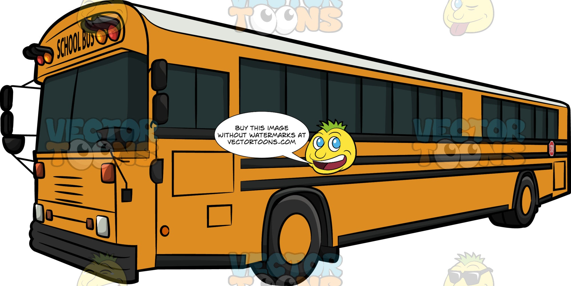 An Air Conditioned School Bus