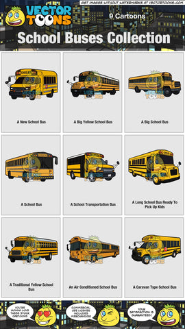 School Buses Collection