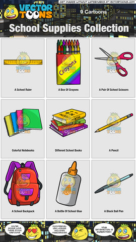 School Supplies Collection