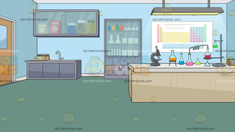 Science Laboratory Background