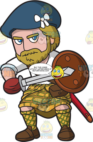 A Tough Scottish Clansman