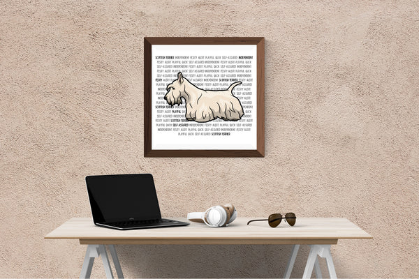 Scottish Terrier Dog Printing / Embroidery Designs