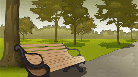 Serene Park Background