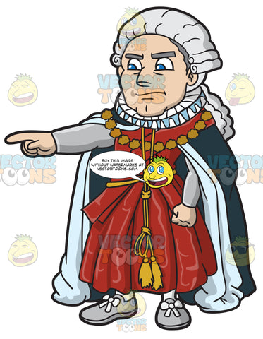 An Angry Shakespearean Judge
