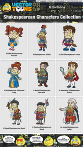 Shakespearean Characters Collection
