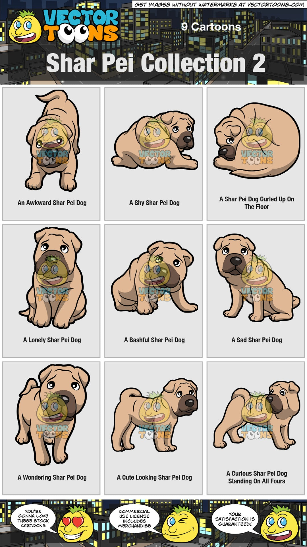Shar Pei Collection 2