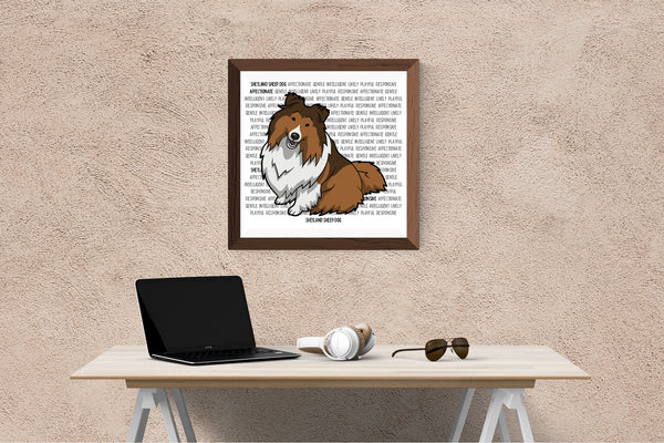 Shetland Sheep Dog Dog Printing / Embroidery Designs