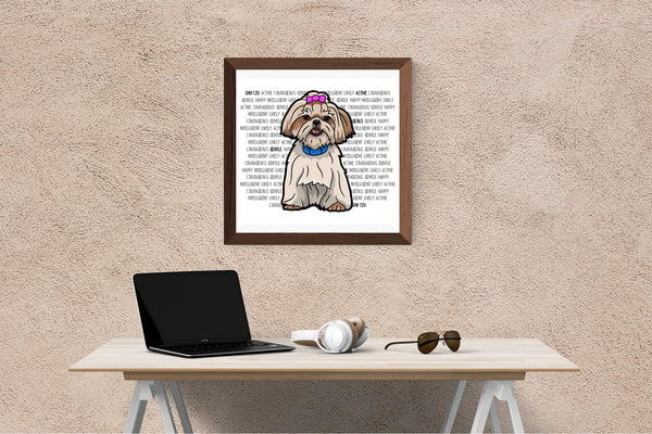Shih Tzu Dog Printing / Embroidery Designs