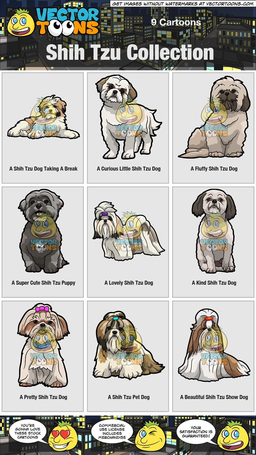 Shih Tzu Collection