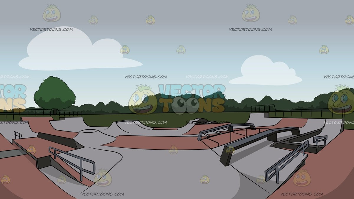 Skate Park Background