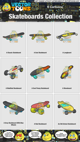 Skateboards Collection