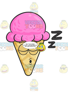 Sleeping Ice Cream Snoring And Drifting Zs