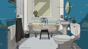 Small Bathroom Background