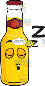 Snoring Bottle Of Beer Drifting Zs Emoji