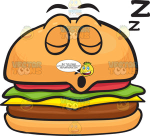 Snoring Cheeseburger Drifting Zs
