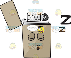 Snoring Metal Lighter Drifting Zs Emoji