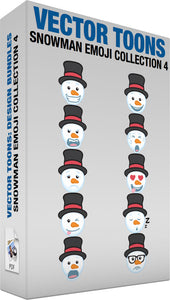 Snowman Emoji Collection 4