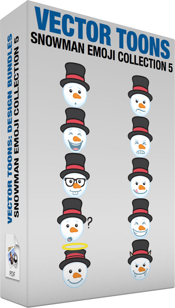 Snowman Emoji Collection 5