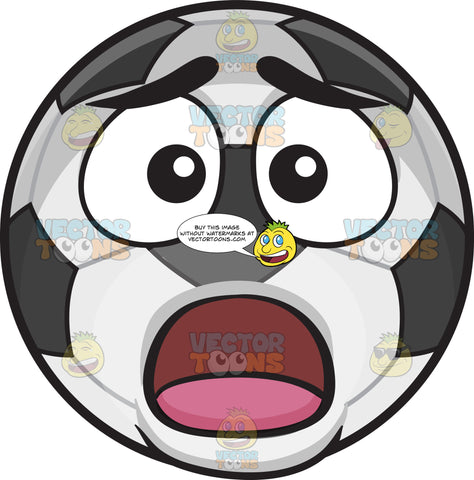 A Shocked Soccer Ball