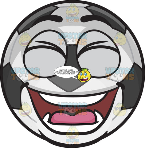 A Laughing Soccer Ball
