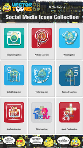 Social Media Icons Collection