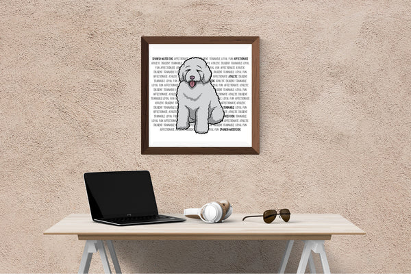 Spanish Water Dog Dog Printing / Embroidery Designs