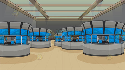 Stock Exchange Trading Floor Background