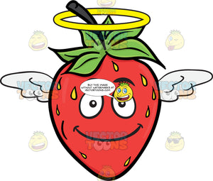 An Angelic Strawberry Fruit