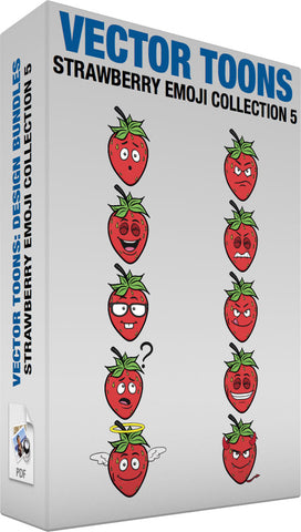 Strawberry Emoji Collection 5