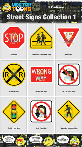 Street Signs Collection 1