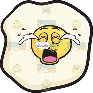 Sunny Side Up Egg Crying Out Loud Emoji