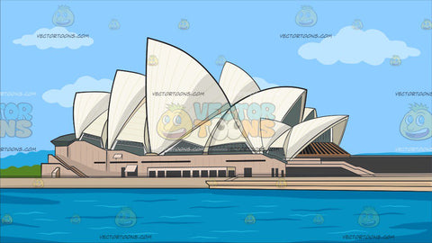 Sydney Opera House Background