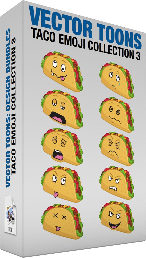 Taco Emoji Collection 3