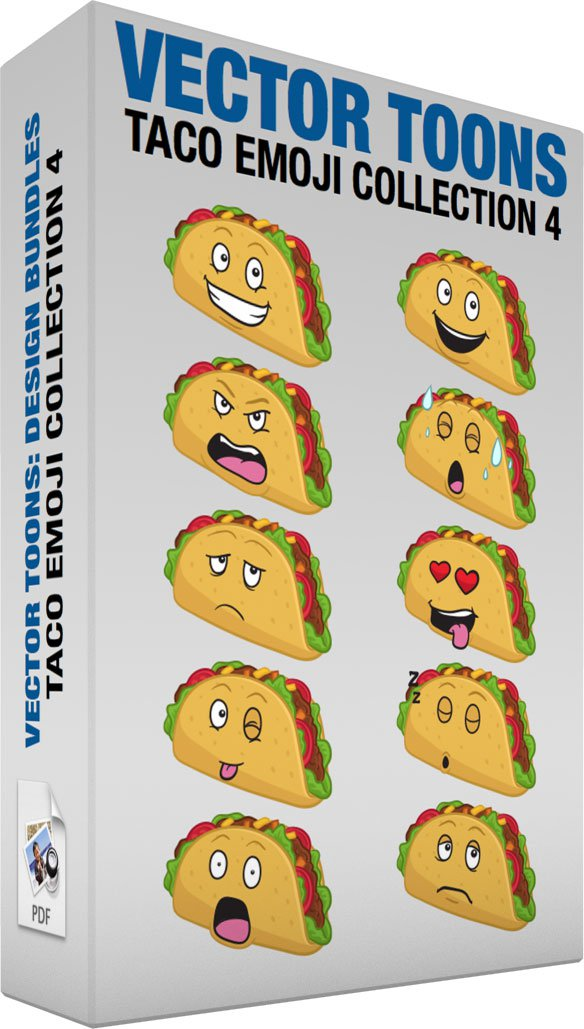 Taco Emoji Collection 4