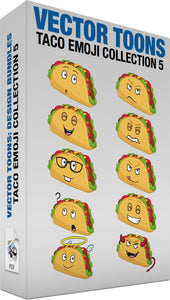 Taco Emoji Collection 5