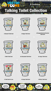 Talking Toilet Collection