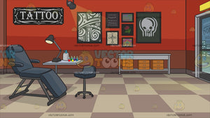 Tattoo Parlor Background