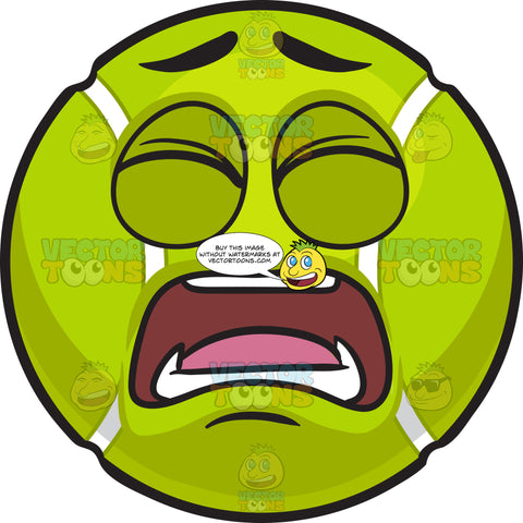 A Frustrated Tennis Ball