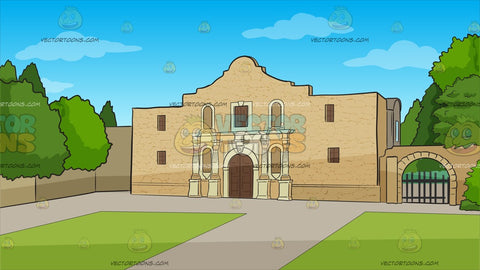The Alamo Background