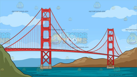 The Golden Gate Bridge Background