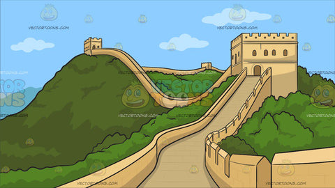 The Great Wall Of China Background