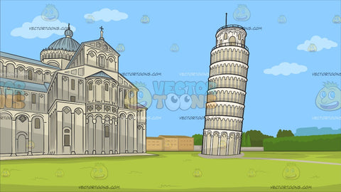 The Leaning Tower Of Pisa Background