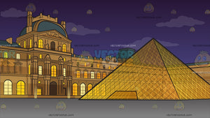 The Louvre Background