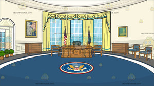 The Oval Office Background