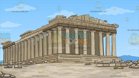 The Parthenon Background