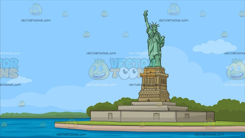 The Statue Of Liberty Background