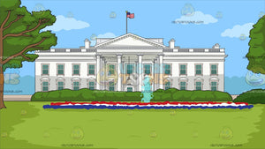 The White House Background