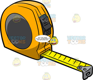 A Yellow Tape Measure
