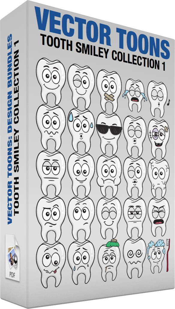 Tooth Smiley Collection 1